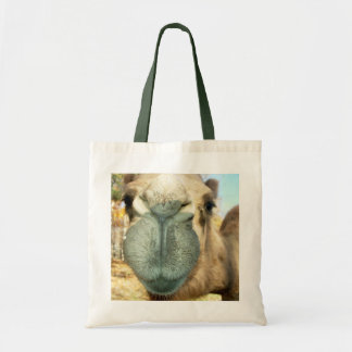 Camel Face Tote Bags