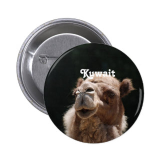 Camel from Kuwait Pinback Button