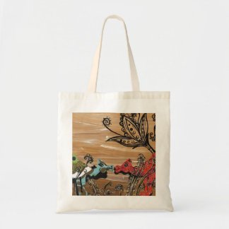 Camel Garden Grocery Bag