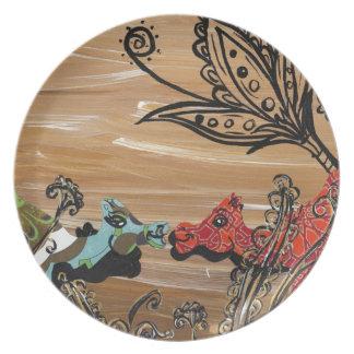 Camel Garden Plate