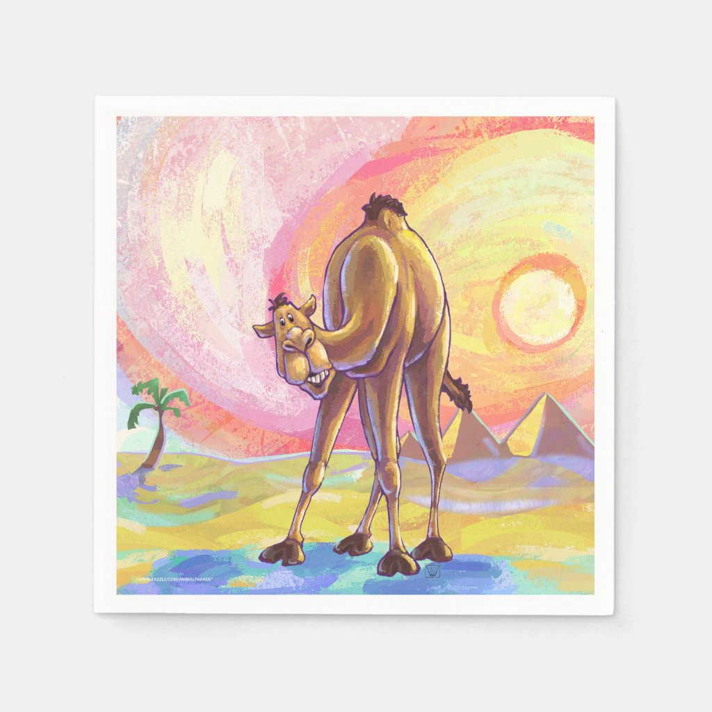 Camel Gifts & Accessories Paper Napkin