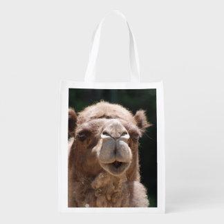 Camel Grocery Bag