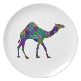 Camel Grounds Dinner Plate