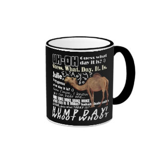 Camel Guess What Day Ringer Coffee Mug