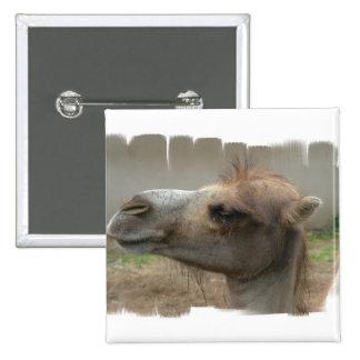 Camel Head  Button
