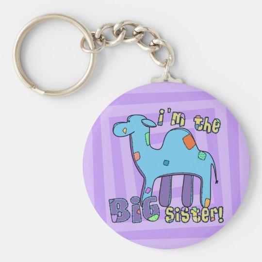 Camel I'm the Big Sister Keychain