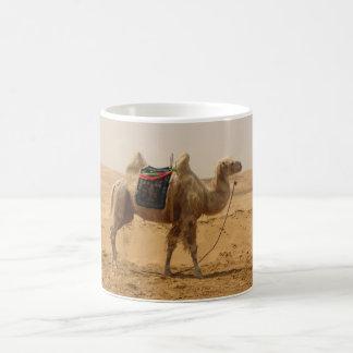 Camel in the desert mugs