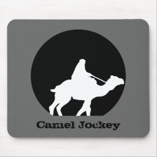 Camel Jockey Mouse Pad