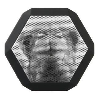 Camel Kisses Closeup Photo Black Bluetooth Speaker