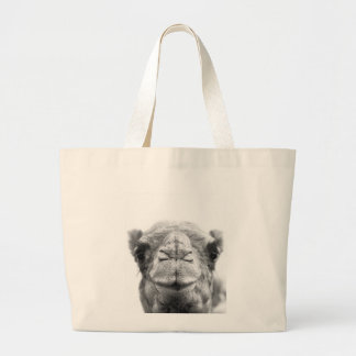 Camel Kisses Fun Closeup Photo Tote Bag
