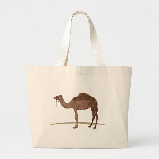 Camel Large Tote Bag