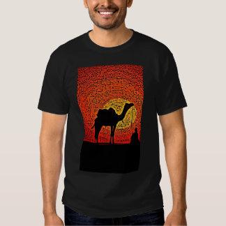 camel light tee shirt