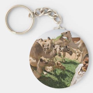 Camel Market Key Chain