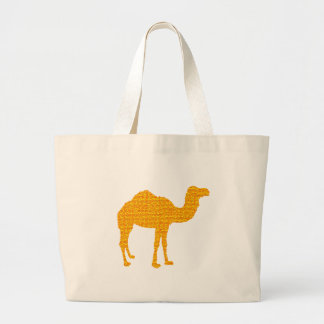 Camel of the Sahara Large Tote Bag