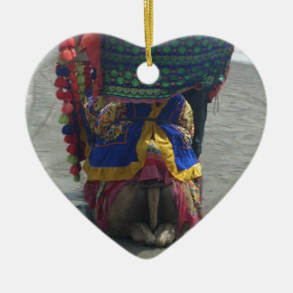 Camel on the toes.png ceramic ornament