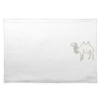 Camel Outline Drawing Coloring Placemats