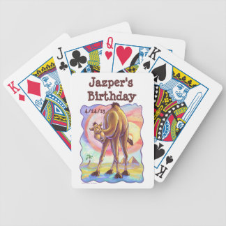 Camel Party Center Bicycle Playing Cards