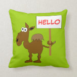Camel Pillow Template