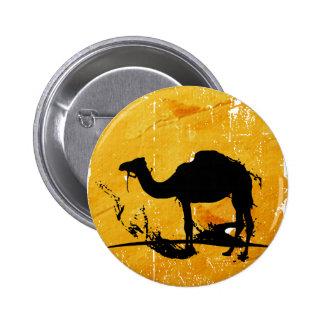 Camel Pinback Button