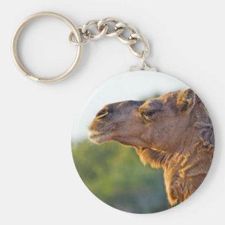 Camel Portrait Key Chains