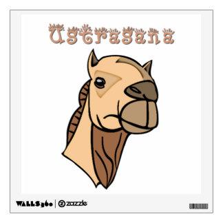 Camel Pose Wall Sticker