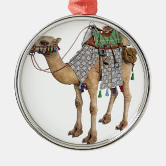 Camel prepared for Ancient Rider Metal Ornament