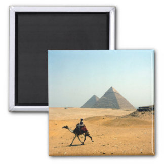 camel pyramid 2 inch square magnet