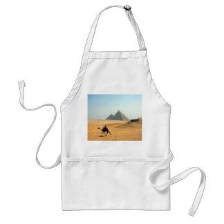 camel pyramid adult apron