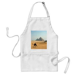 camel pyramid apron