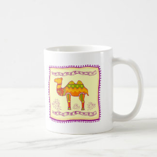 Camel Quilt Coffee Mug