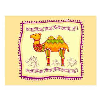 Camel Quilt Postcard