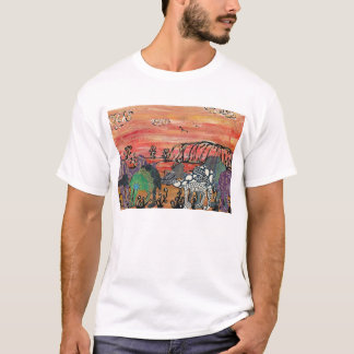 Camel Racing in the Outback T-Shirt