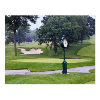 Camel Sand Trap, Medinah, Illinois, Golf Course Postcard