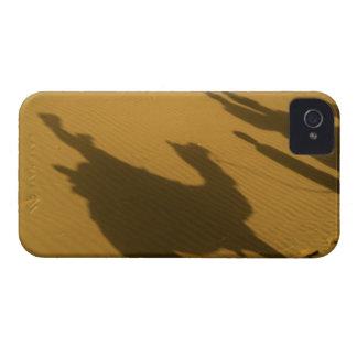Camel silhouettes on sand dunes, Thar Desert, Case-Mate iPhone 4 Case