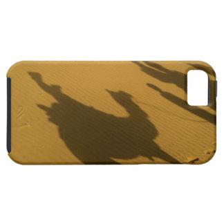Camel silhouettes on sand dunes, Thar Desert, iPhone SE/5/5s Case