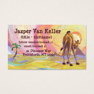 Camel Stationery Business Card
