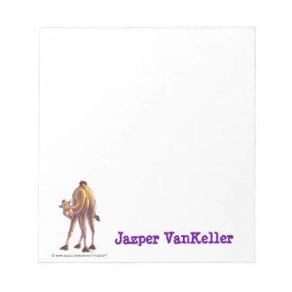 Camel Stationery Notepad
