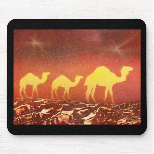 Camel Trail Mouse Pad
