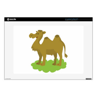 "camel walking tall decal for 15"" laptop"