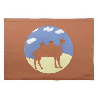 Camel Whimsical on Desert Dunes Place Mats