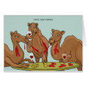Camel Wine Tasting Card