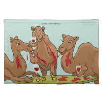 Camel Wine Tasting Placemat