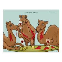 Camel Wine Tasting Postcard