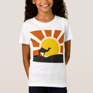 Camel With Sunset T-Shirt