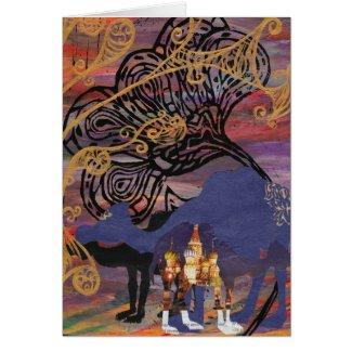 Camel Worlds card card