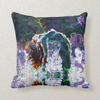Camel Yoga Pillow by deprise