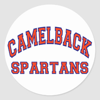 Camelback Spartans Classic Round Sticker