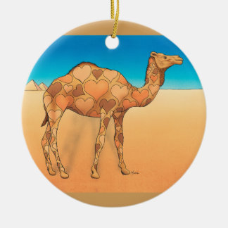 Camelflouge Ceramic Ornament