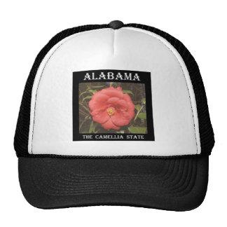 Camelia de Alabama (roja) Gorra