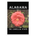 Camelia de Alabama (roja) Papelería De Diseño